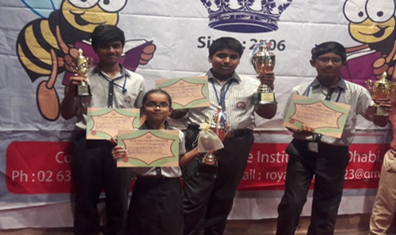 Winner, Spelling Bee Competitions of various levels 2014,2015,2016,2017,2018,2019.