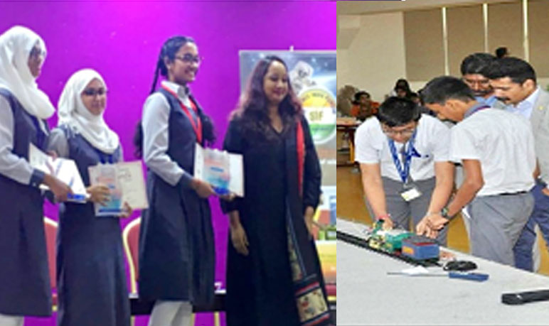 Winners, Science India Forum UAE chapter competitions 2019