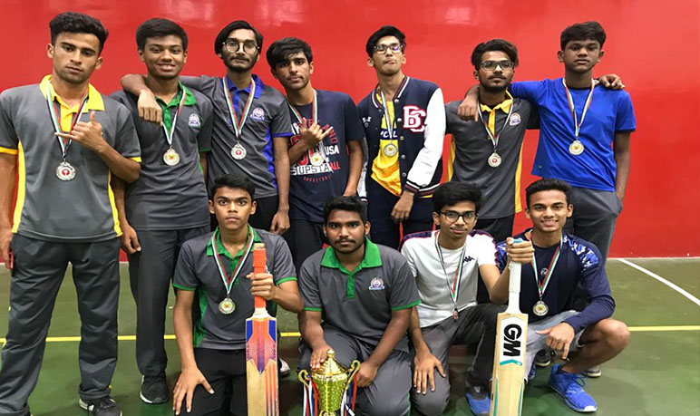 Winners of various basketball, football and cricket tournaments UAE inter school Competitions