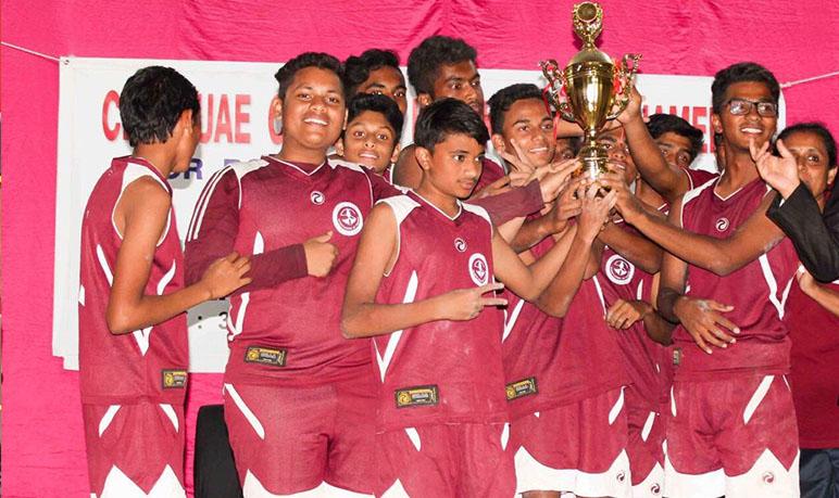 Winner, CBSE cluster Kho-Kho tournament